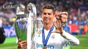 Cristiano Ronaldo Clear Liga Champions
