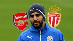 Riyad Mahrez Arsenal Monaco
