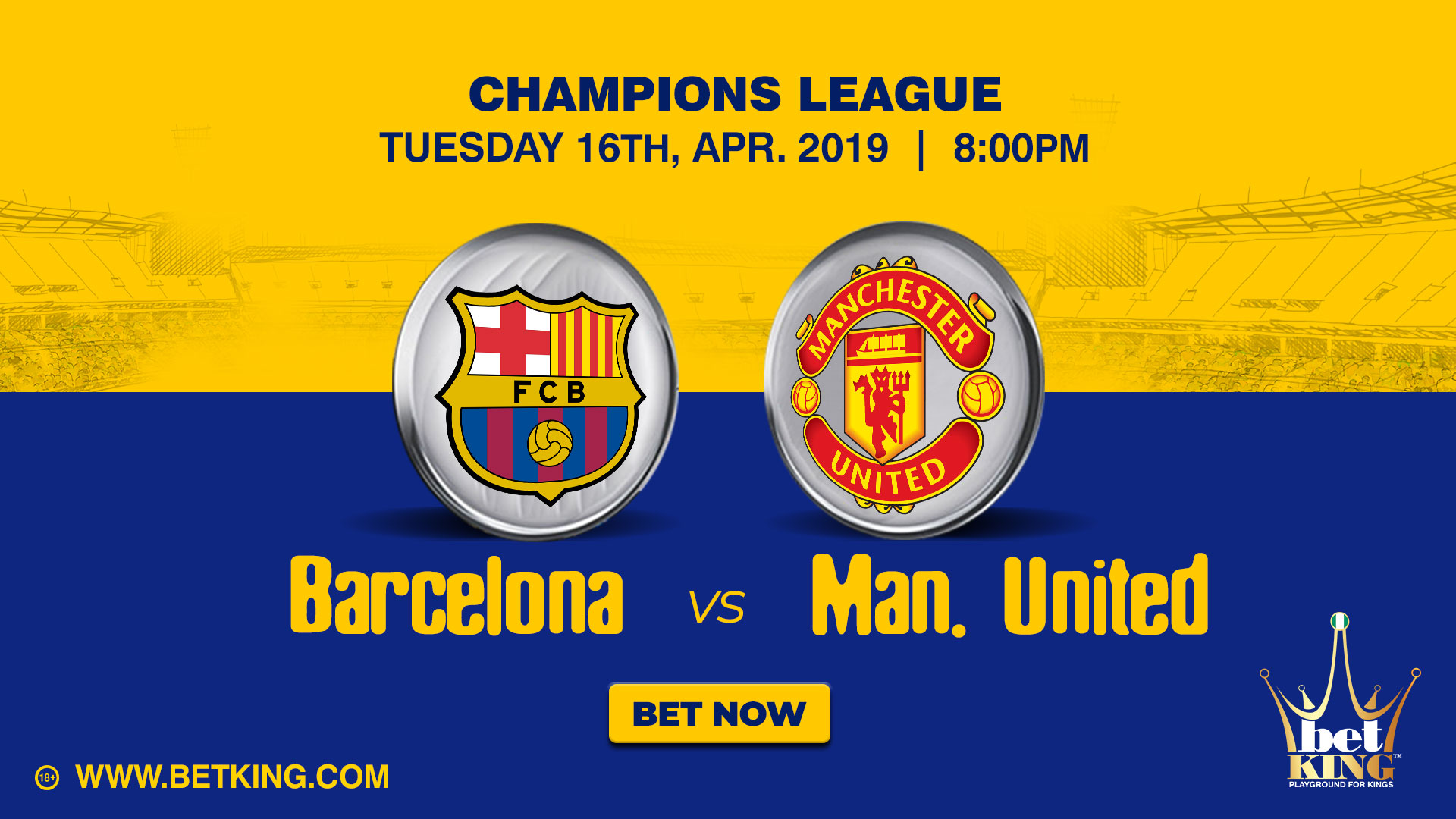 Betking Barcelona Man United