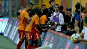 Belhanda Badou Ndiaye Bafetimbi Gomis Galatasaray 1482017