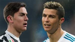 GFX Paulo Dybala Cristiano Ronaldo Real Juventus 2018