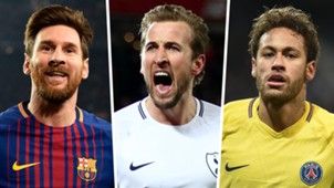 Lionel Messi Harry Kane Neymar