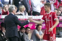 Jupp Heynckes & Thomas Muller
