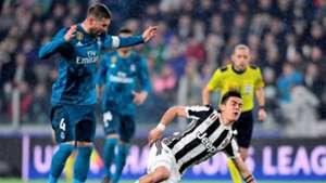 Sergio Ramos Paulo Dybala Juventus Real Madrid UCL 02032018