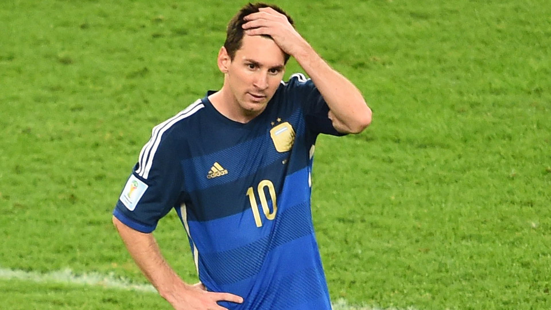 Lionel Messi Argentinien 13072014