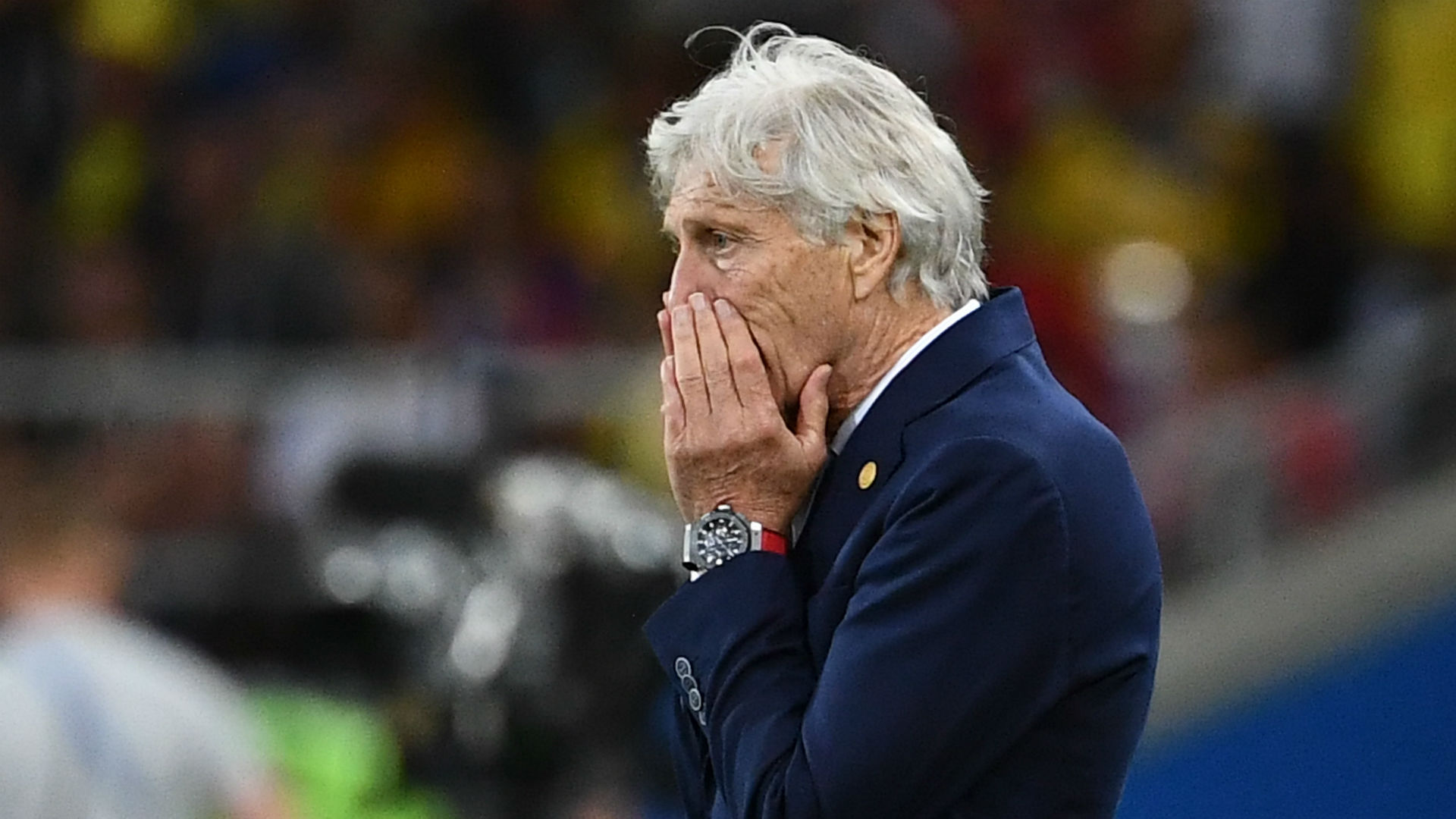 Jose Pekerman Colombia England World Cup 2018