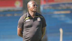 Ulinzi Stars coach Dunstan Nyaudo.