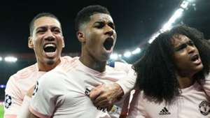 Chris Smalling Marcus Rashford Tahith Chong Manchester United