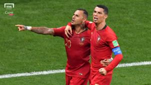 Clear cover Ricardo Quaresma Cristiano Ronaldo Portugal