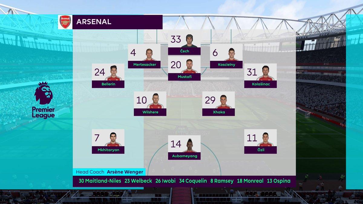 FIFA 18 Aubameyang Arsenal