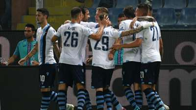 celebration Sampdoria Lazio Serie a