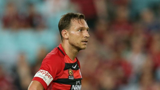 Brendon Santalab Western Sydney Wanderers v Melbourne Victory A-League 10122016