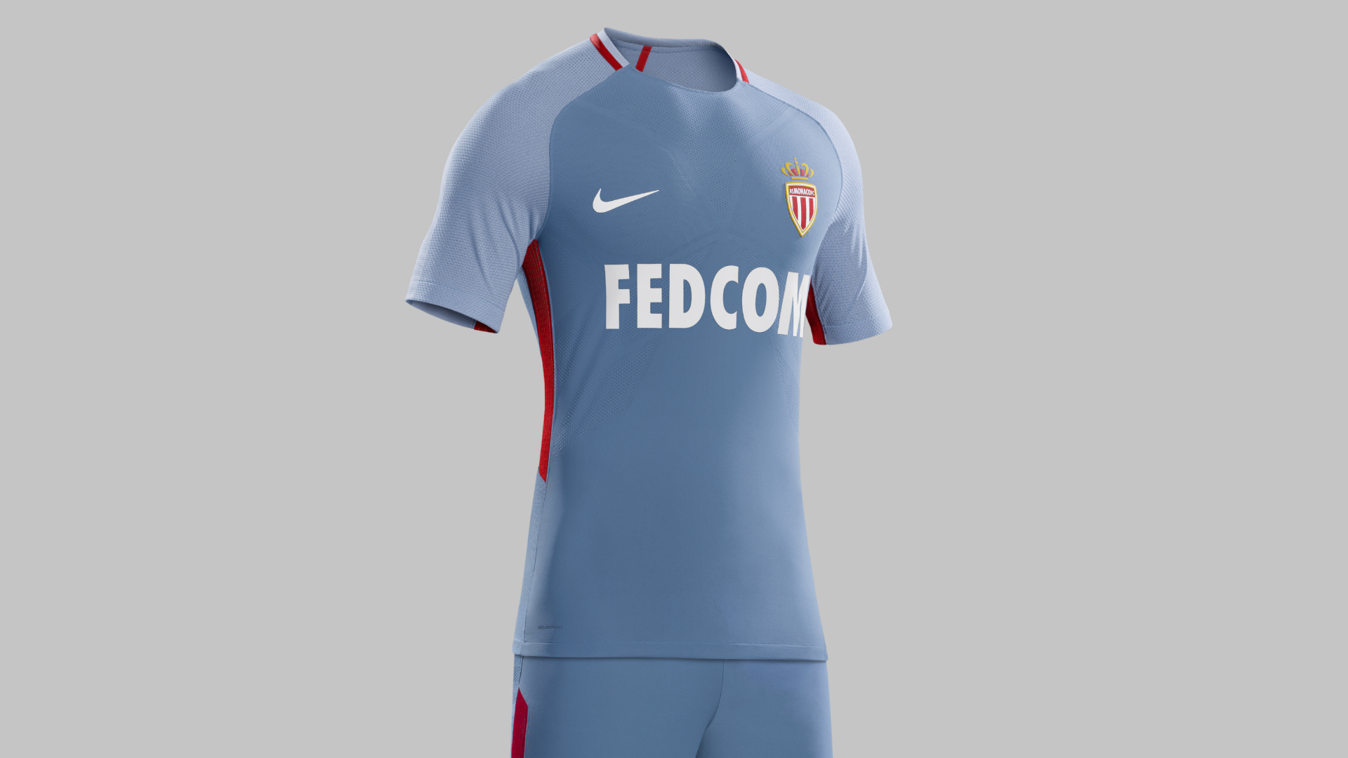 Maillot Domicile AS Monaco Tenue de match