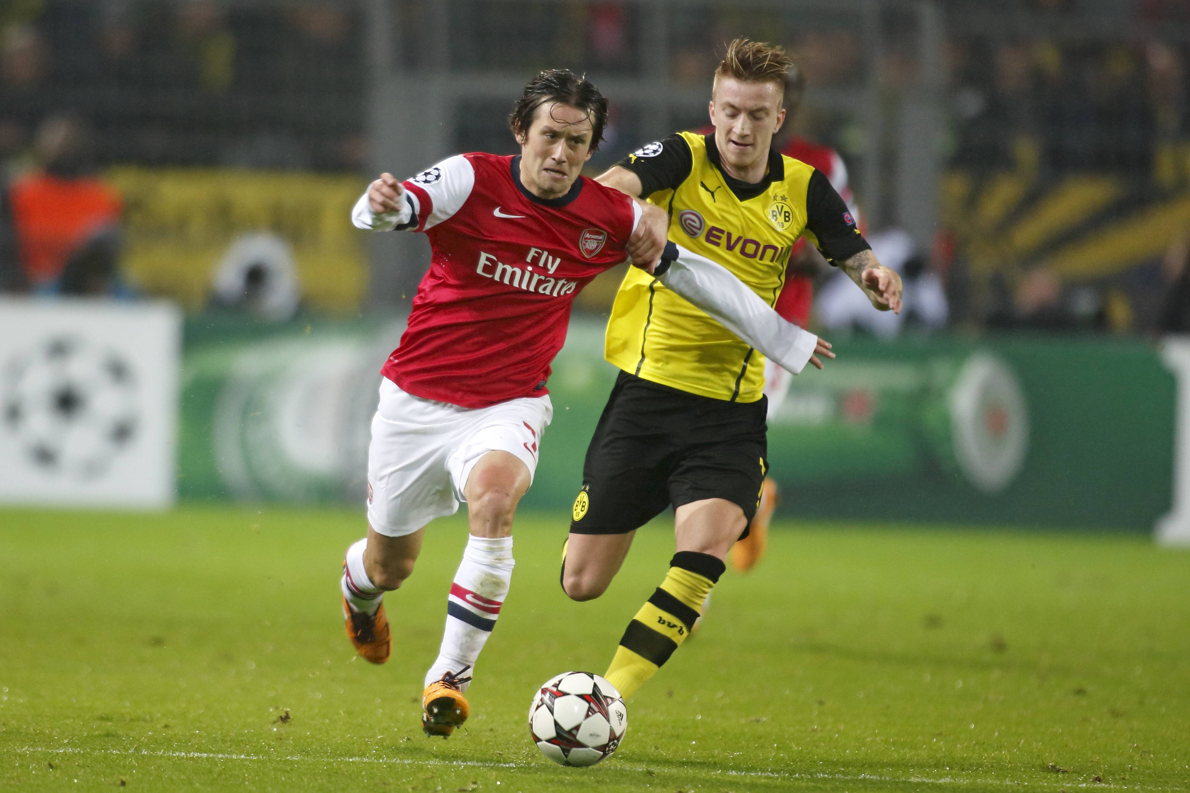 *GER ONLY / NO GALLERY* Tomas Rosicky Marco Reus