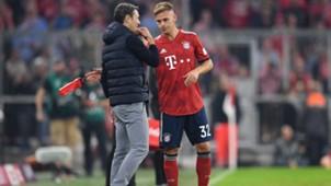 Niko Kovac Joshua Kimmich FC Bayern Bundesliga 061018
