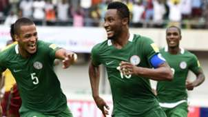 William Troost-Ekong & John Obi Mikel of Nigeria