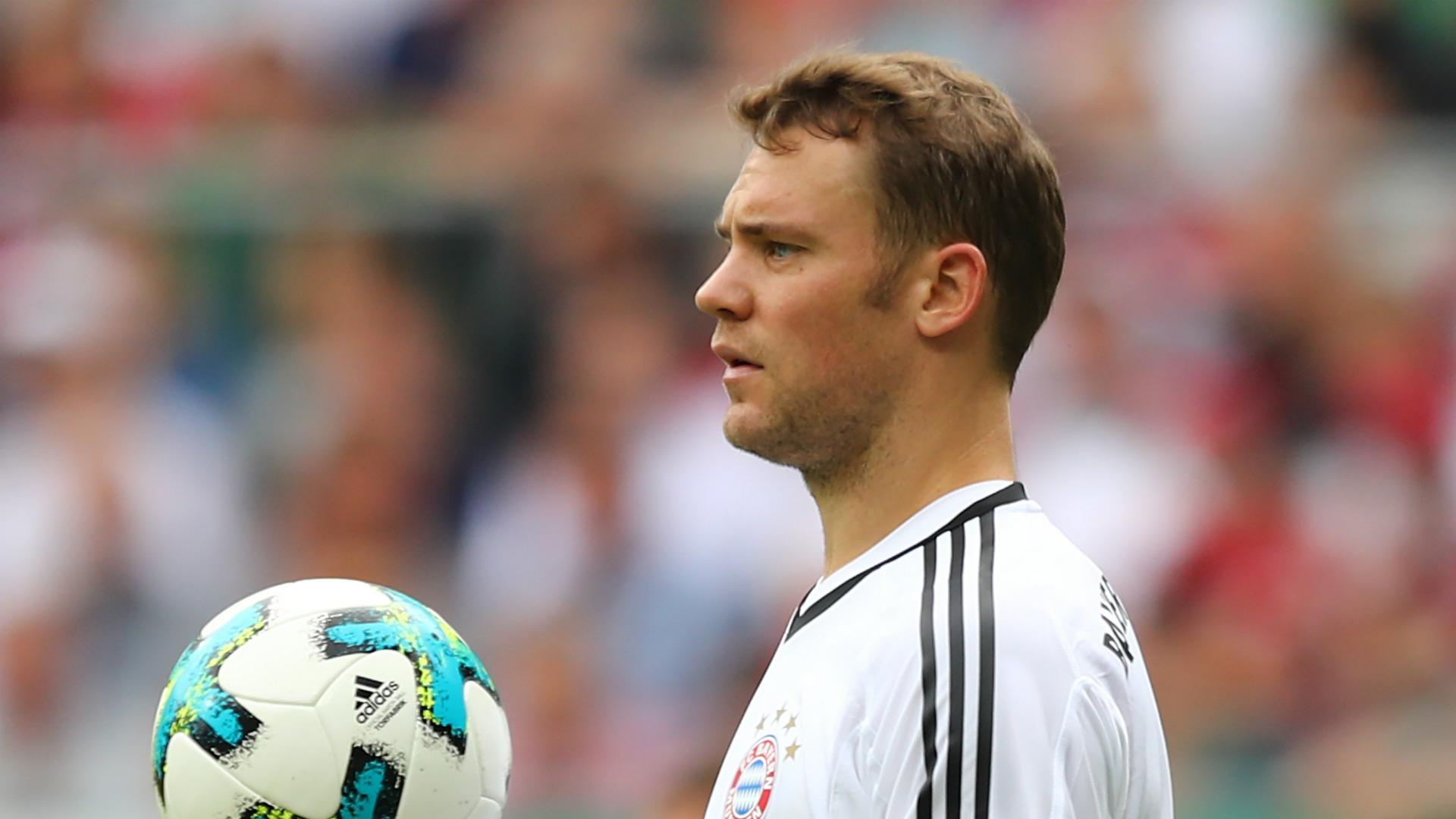 Manuel Neuer Bayern Munich 26082017