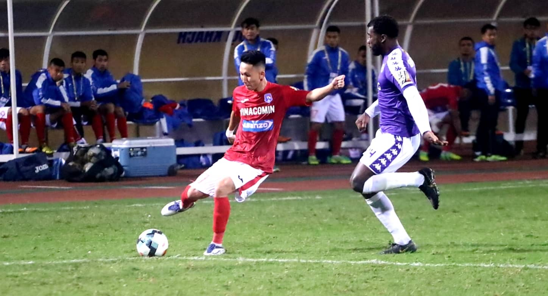 Nghiem Xuan Tu Ha Noi vs Than Quang Ninh V.League 2019