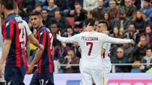 Roma celebrates El Shaarawy vs. Crotone