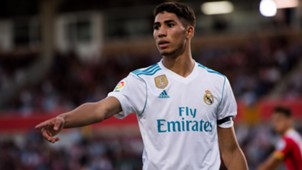 Achraf Hakimi Real Madrid 29102917