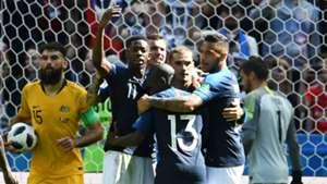 France celebration Paul Pogba goal France Australia World Cup 2018 16062018.jpg