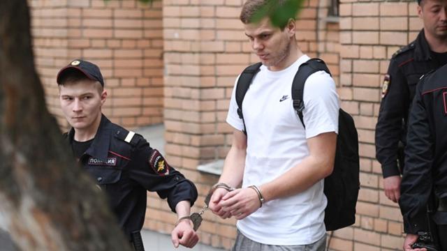 ผลการค้นหารูปภาพสำหรับ ศาลสั่งจำคุกสองแข้งทีมชาติรัสเซีย