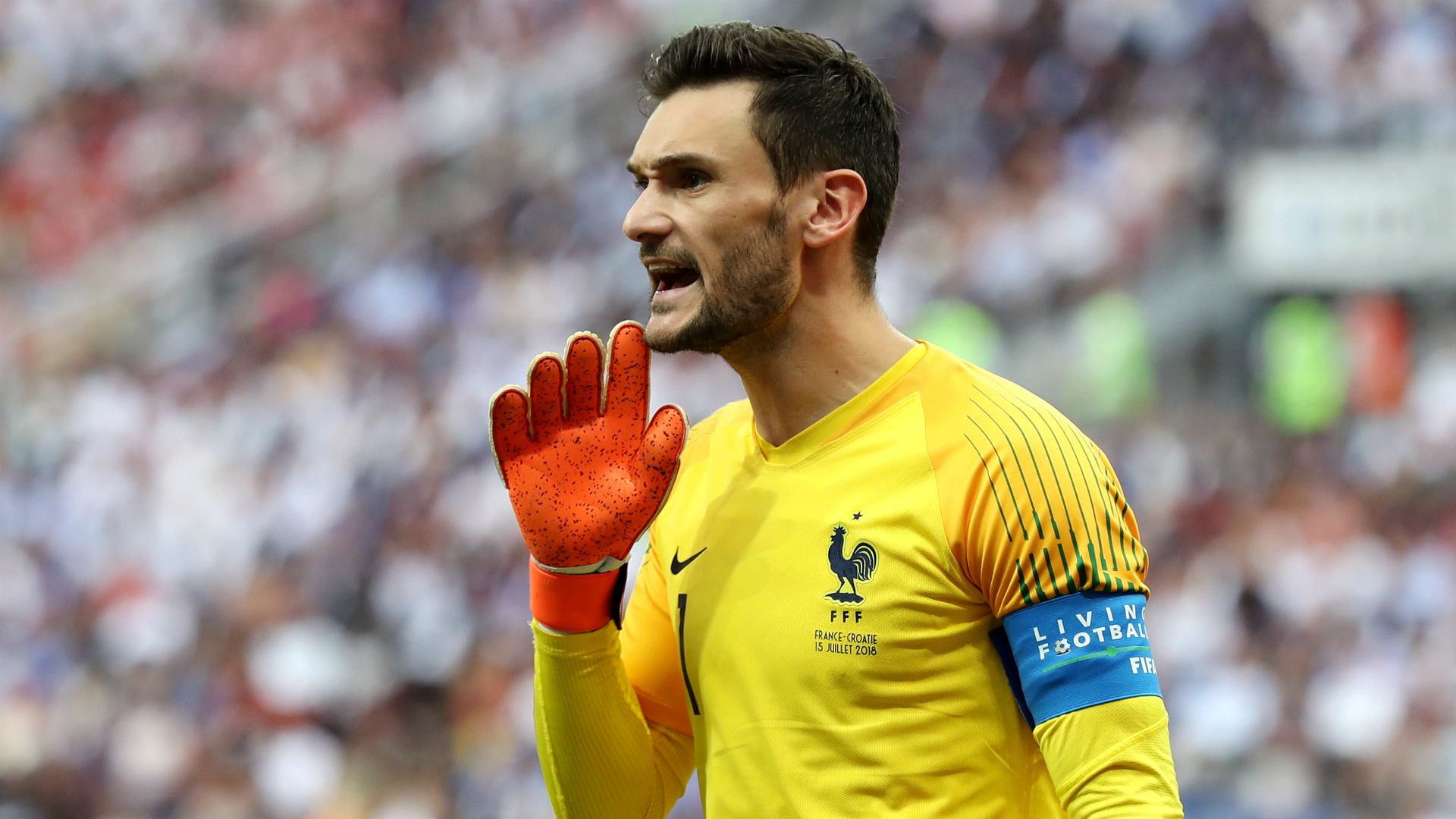 Hugo Lloris France Croatia World Cup final 2018
