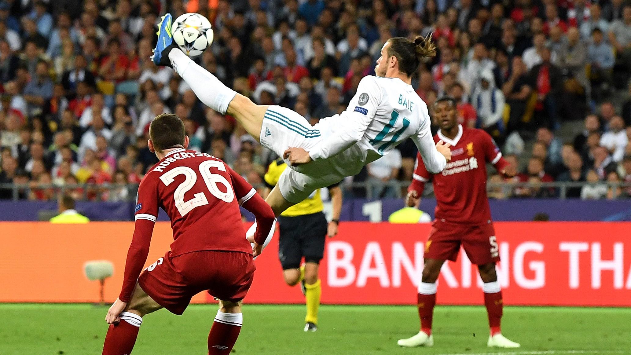 Gareth Bale Real Madrid Liverpool UCL