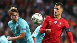 Matthijs de Ligt, Cristiano Ronaldo, 06092019