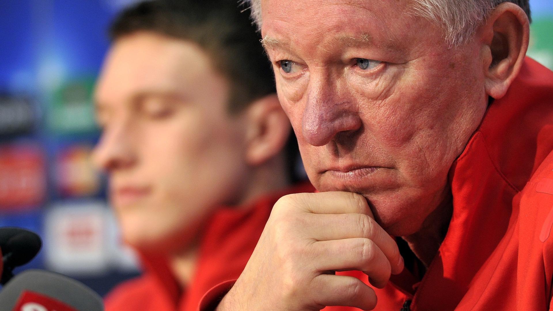 Phil Jones & Sir Alex Ferguson