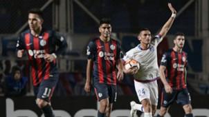 Gonzalo Bergessio San Lorenzo Nacional Copa Sudamericana 22082018