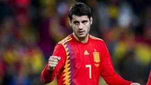 Alvaro Morata Spain Costa Rica Friendly