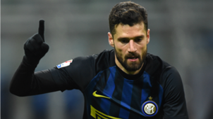 Antonio Candreva Inter Bologna Coppa Italia
