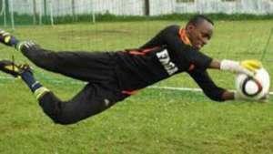 Burundi goalkeeper Arthur Arakaza.