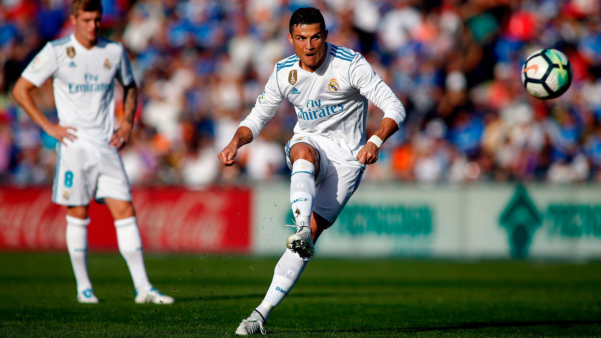 Cristiano Ronaldo goals Real Madrid star scores first Liga goal