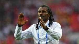 Aliou Cisse - Senegal coach