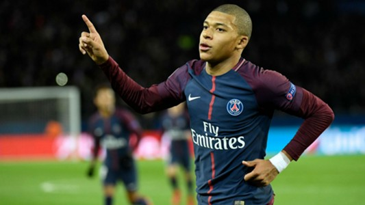 Kylian Mbappe PSG Celtic Champions League 22112017