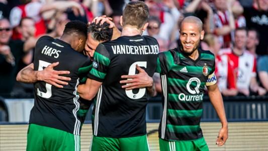 Robin van Persie, Karim El Ahmadi, Feyenoord, KNVB Beker 04222018