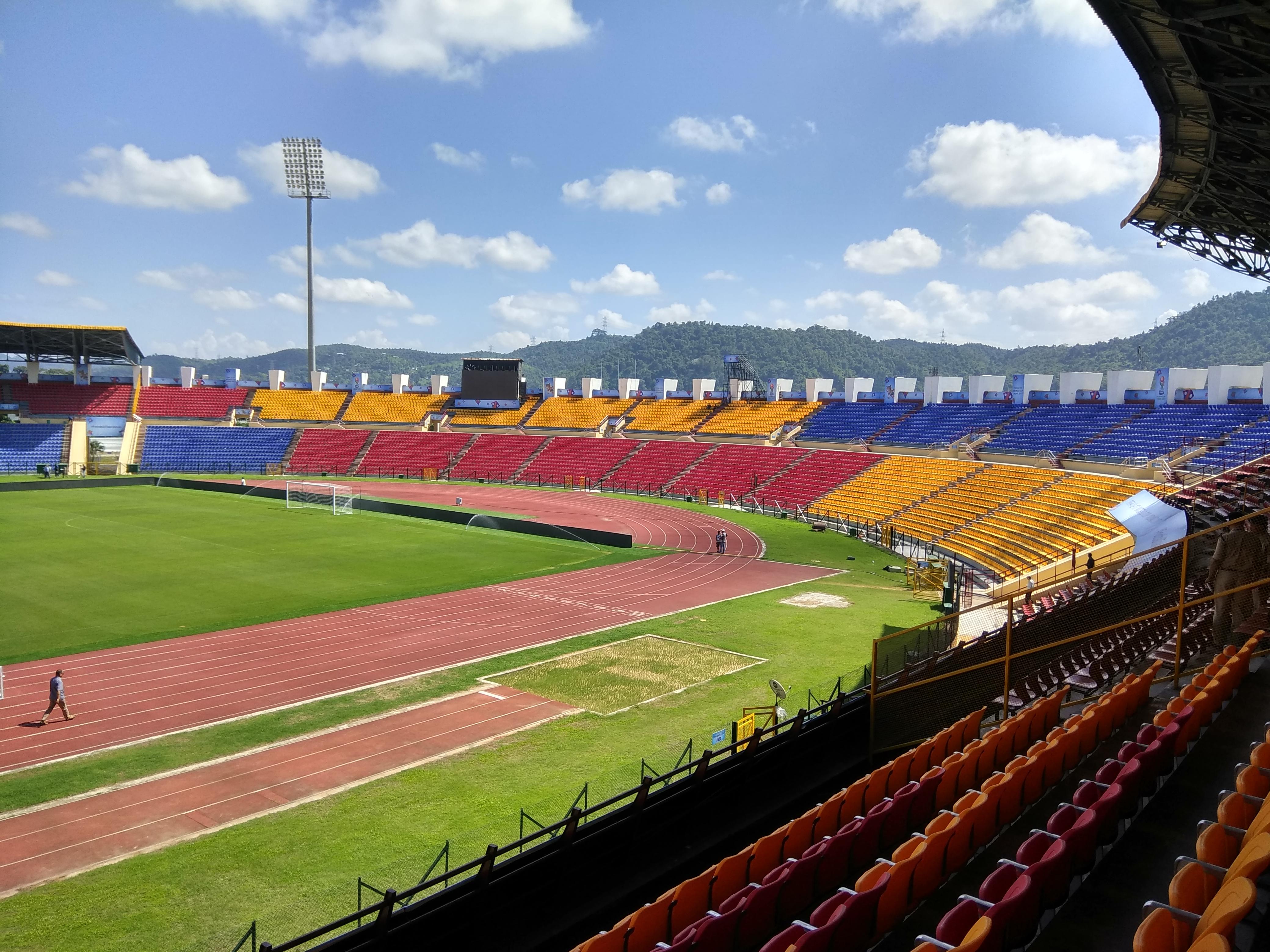 Indira Gandhi Athletic Stadium Guwahati