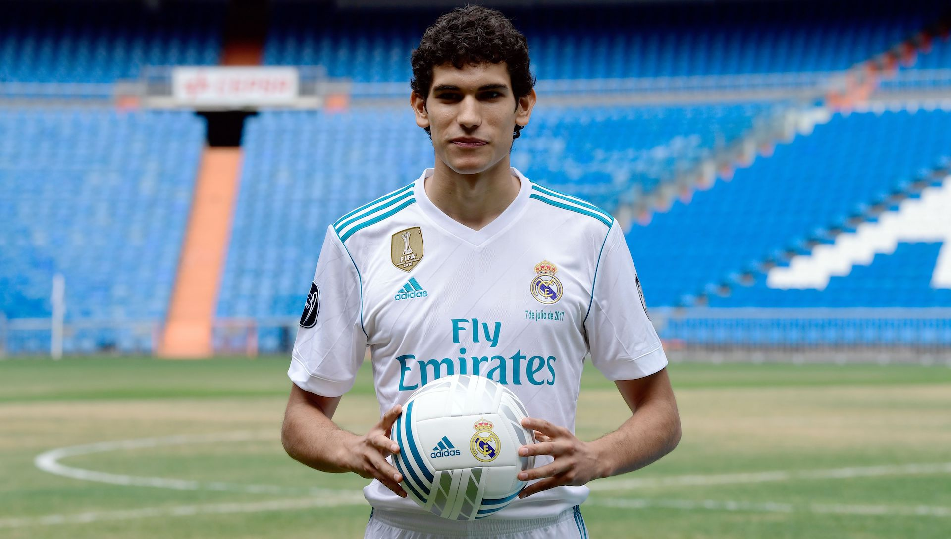 Jesus Vallejo Real Madrid unveiling