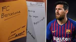 Valencia Spy Lionel Messi Barcelona