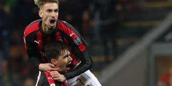 Alessio Romagnoli Milan Genoa Serie A