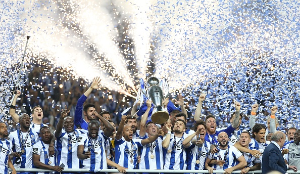 Porto 2017-18 champions