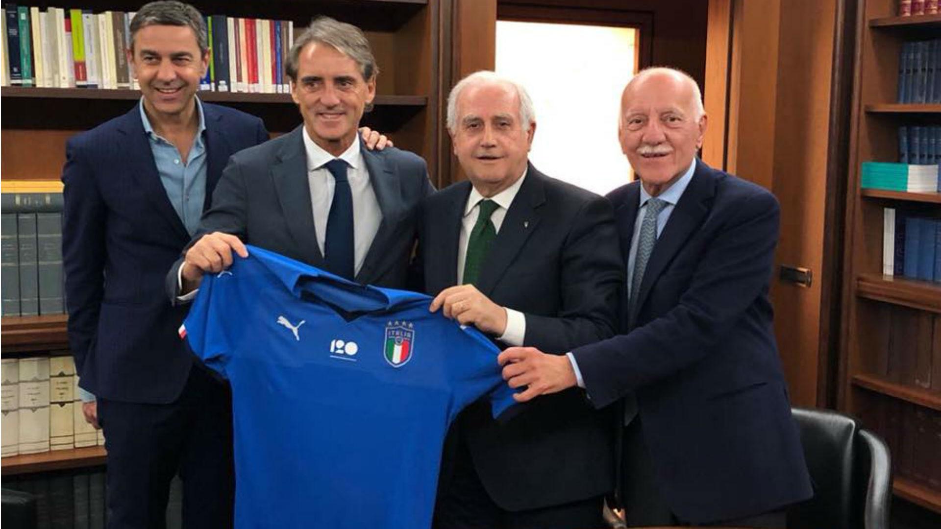 Image result for มันชินีคอนเฟิร์มนั่งกุนซือทีมชาติอิตาลี