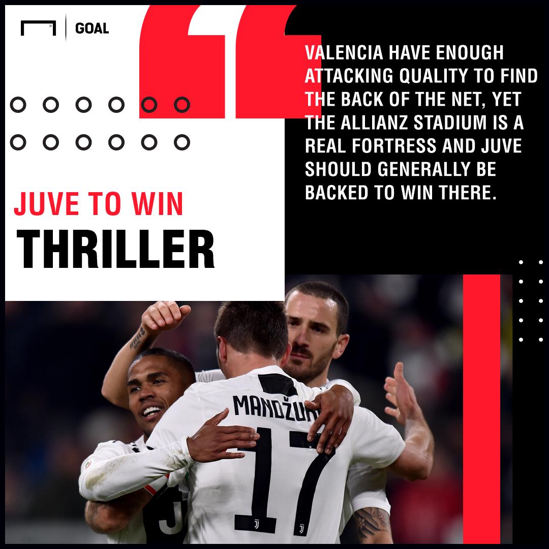 Juventus Valencia graphic