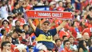 Chile fan at Copa America 2016
