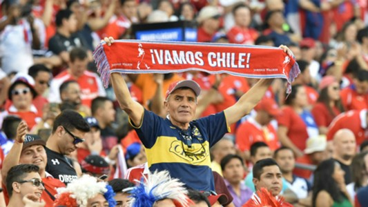 Chile fan at Copa America 2016