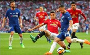 Eden Hazard Chelsea Ander Herrera Manchester United FA Cup