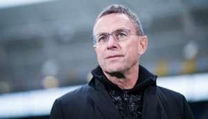 Ralf Rangnick RB Leipzig Coach