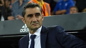 Ernesto Valverde Barcelona La Liga 07102018
